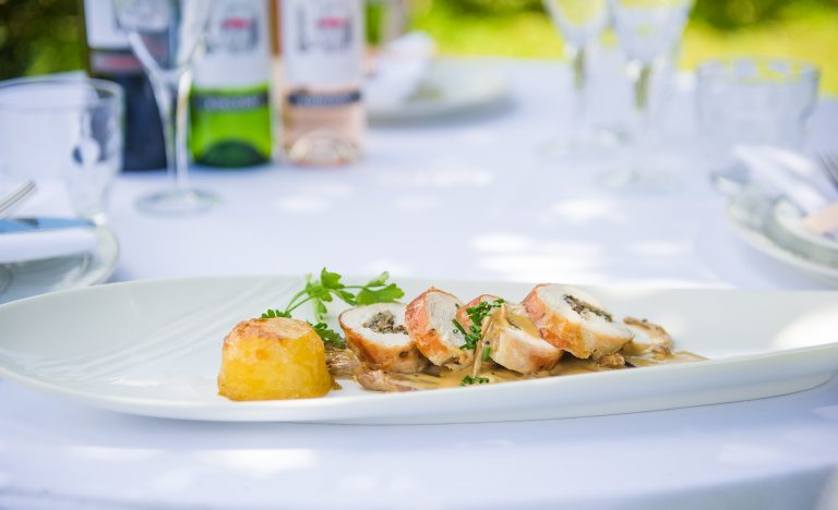 Kent Food Photographer - chicken roullade